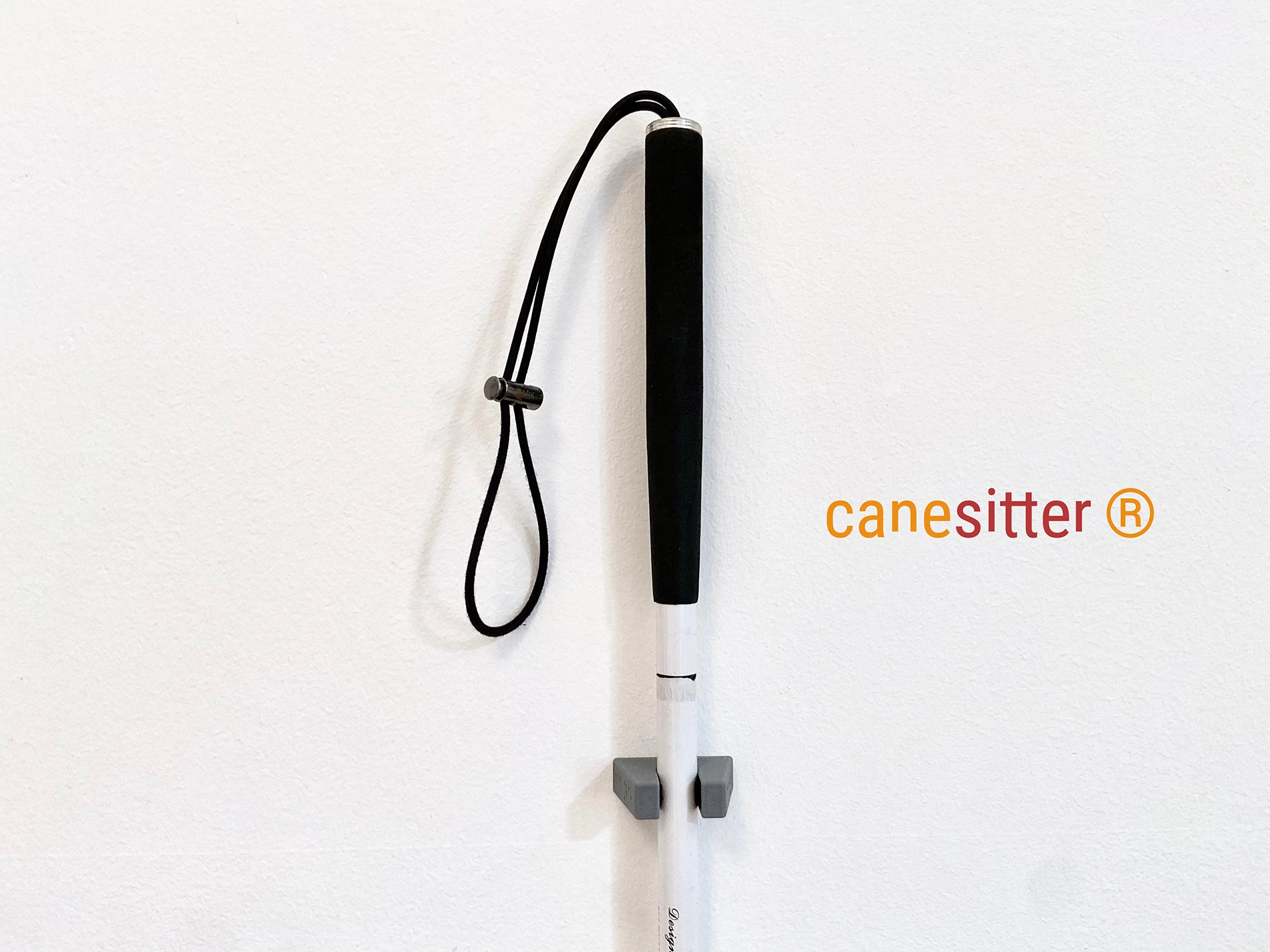 canesitter - the white cane holder